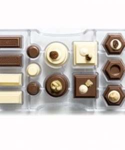 Chocolate mould geometric