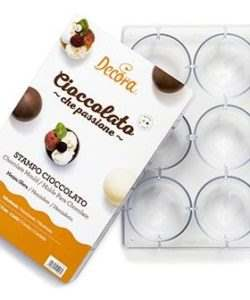 Chocolate mould bal 7,5 cm