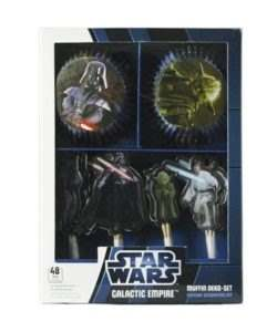 Cupcake Kit Star Wars Galaktic Empire 48 stuks