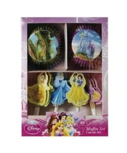 Cupcake Kit Disney Princess 48 stuks