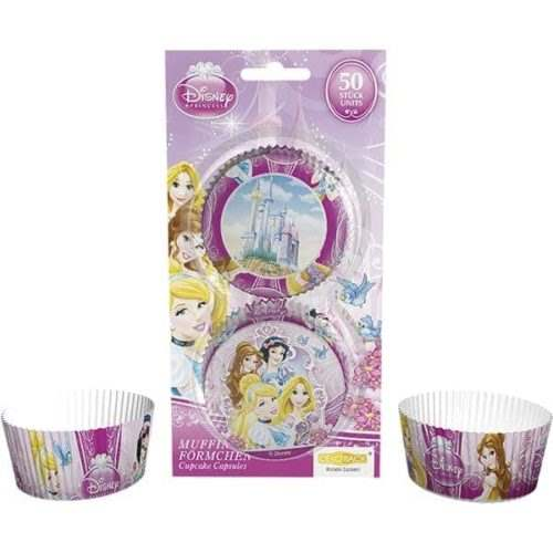 Baking cups disney princess, 50 stuks