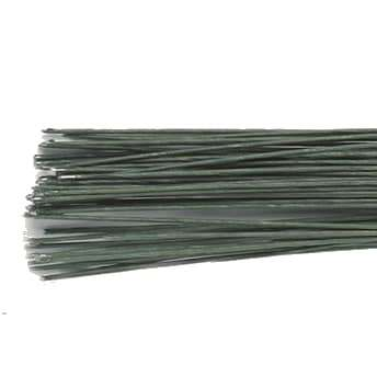 Culpitt Floral Wire Dark Green set/50 28 gauge