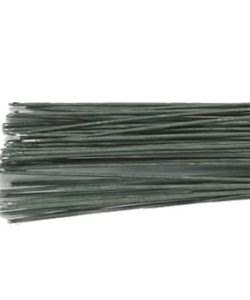 Culpitt Floral Wire Dark Green set/50 30 gauge