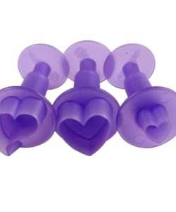 Wilton Fondant Mini Cutters Hearts Set/3