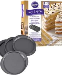 Wilton Cake Pan Easy Layers 20cm Set/4