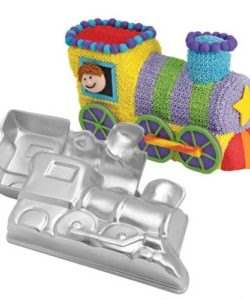 Wilton choochoo train pan set (3)