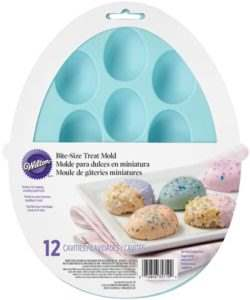 Wilton Silicone Petite Treat Mold -Egg-