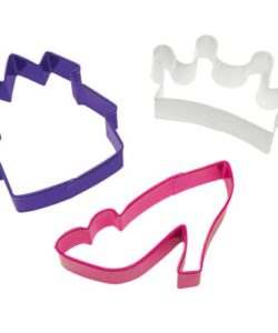 Wilton Princess Cookie Cutter Set/3