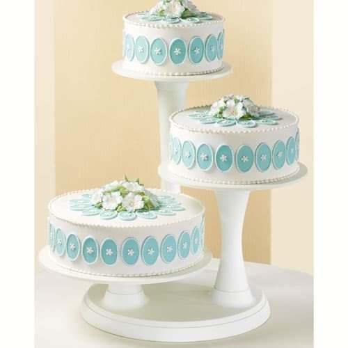 Wilton 3 tier pillar cake stand (2)