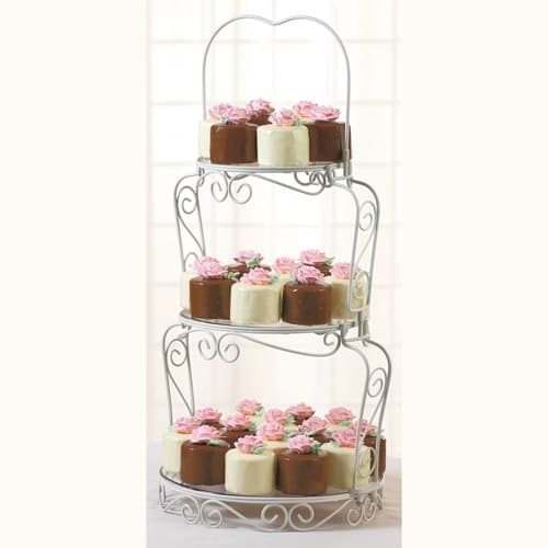 Wilton graceful tiers cake stand (3)