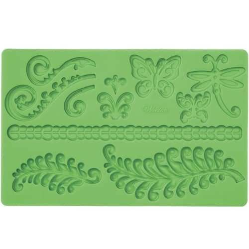 Wilton fondant & gum paste mold fern