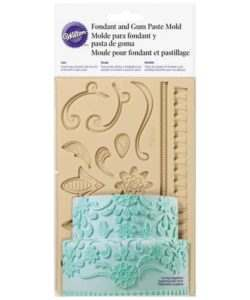 Wilton Fondant & Gum Paste Mold Lace (2)