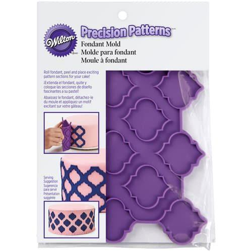 Wilton silicone precision patterns trellis (2)