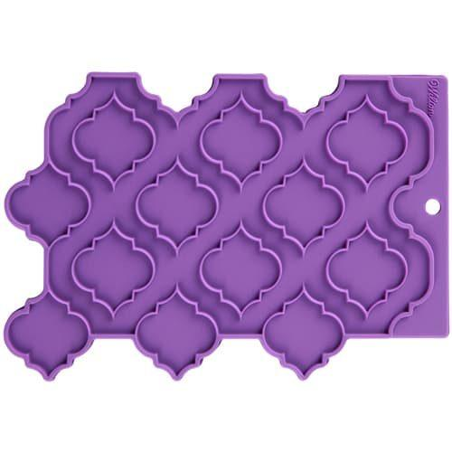 Wilton silicone precision patterns trellis