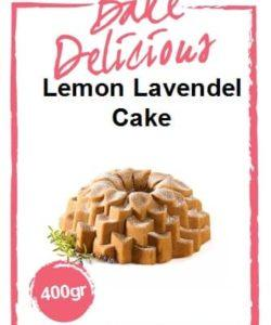 Bake Delicious Lemon Lavendel cake 400gr