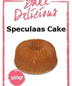 Bake Delicious Speculaas cake 500gr
