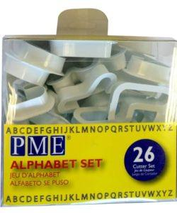 Pme alphabet cutter set/26 (2)