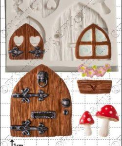 FPC mold Fairy Door & Windows