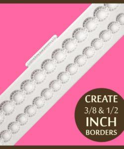 Katy Sue Design Beaded Pearl Borders