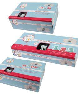 Cake Star Easy Push plungers Alphabet upper case (2)