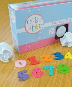 Cake Star Easy Push plungers numbers