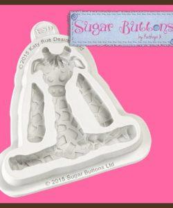 Katy Sue Sugar Buttons Giraffe