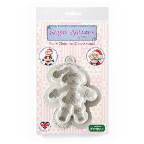 Katy sue sugar buttons - father christmas