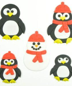 FMM Mummy and Baby Penguin Cutter Set/4 (2)