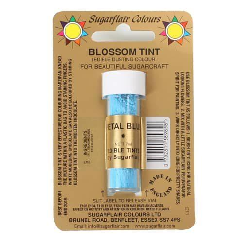 Sugarflair dusting colour petal blue, 7ml