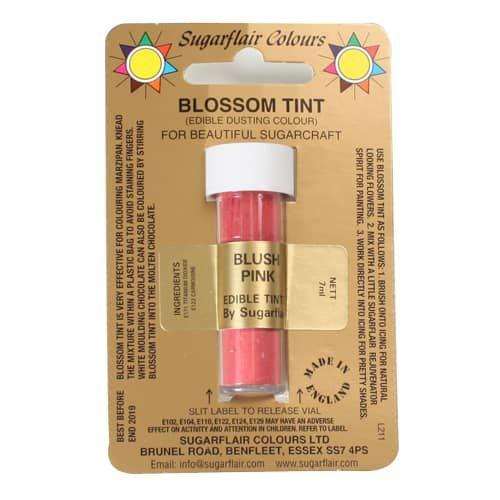 Sugarflair dusting colour blush pink, 7ml