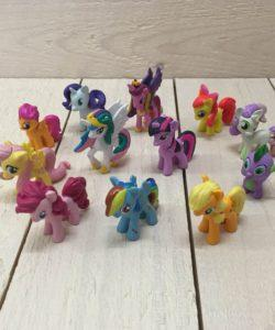 Plastic decoratieset My Little Pony 12 stuks