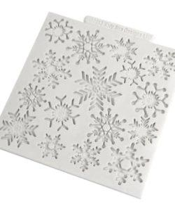Katy Sue Design Mat Snowflakes