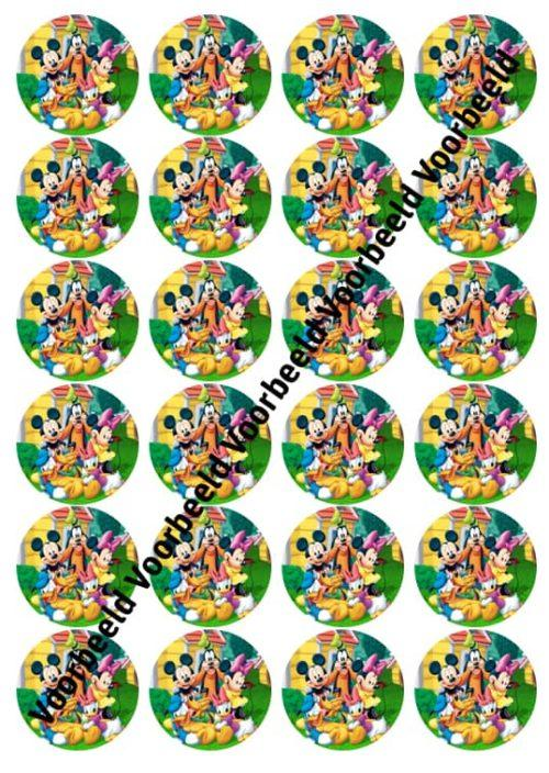 Mickey mouse 24 cupcakes