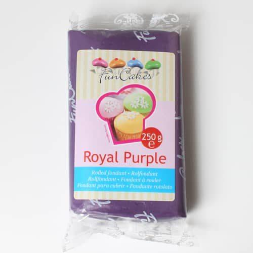 Funcakes rolfondant paars royal purple 250g
