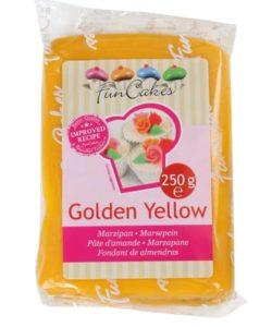 FunCakes Marsepein Geel Golden Yellow 250 gr