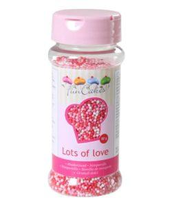 FunCakes Musketzaad Lot's of Love 80g