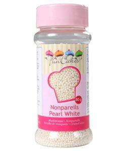 FunCakes Musketzaad Parelmoer Wit 80g