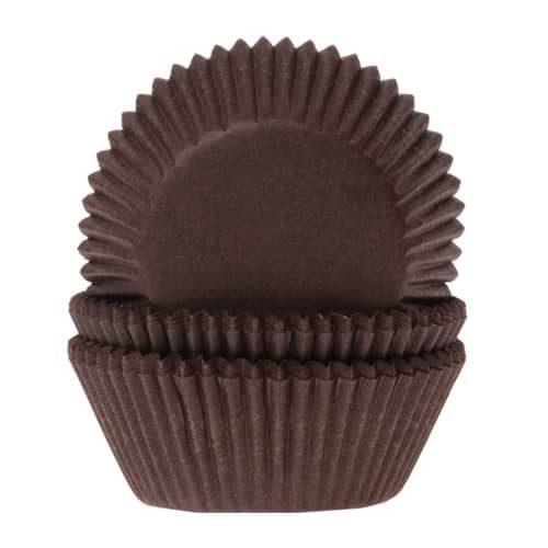 House of marie baking cups bruin pk/50