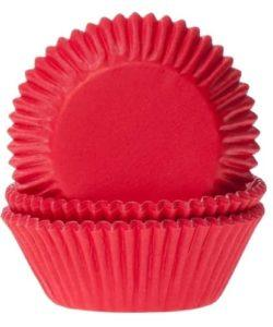 House of Marie Baking cups Red Velvet pk/50