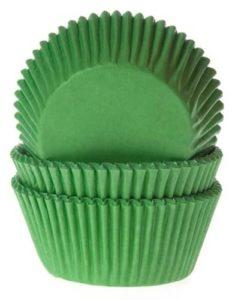 House of Marie Baking cups Gras Groen pk/50