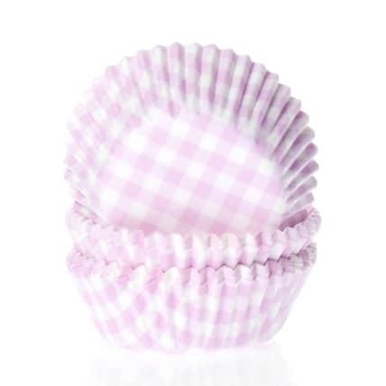 House of marie baking cups ruit roze pk/50