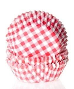 House of Marie Baking cups Ruit Rood pk/50