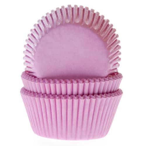 House of marie baking cups licht roze pk/50