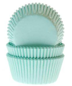 House of Marie Baking Cups Mint pk/50