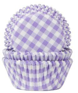 House of Marie Baking Cups Ruit Lila pk/50