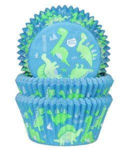 House of Marie Baking Cups Dino's pk/50