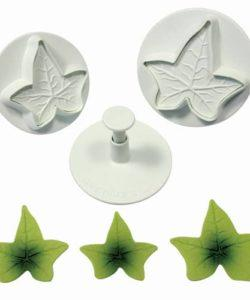 PME Ivy Leaf Plunger Cutter set/3 LARGE