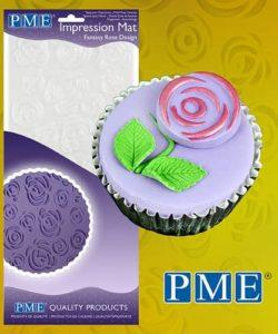 PME Impression Mat Fantasy Rose