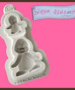 Katy Sue Sugar Buttons - Penguins