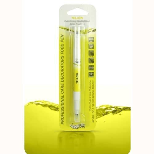 Rd double sided food pen yellow